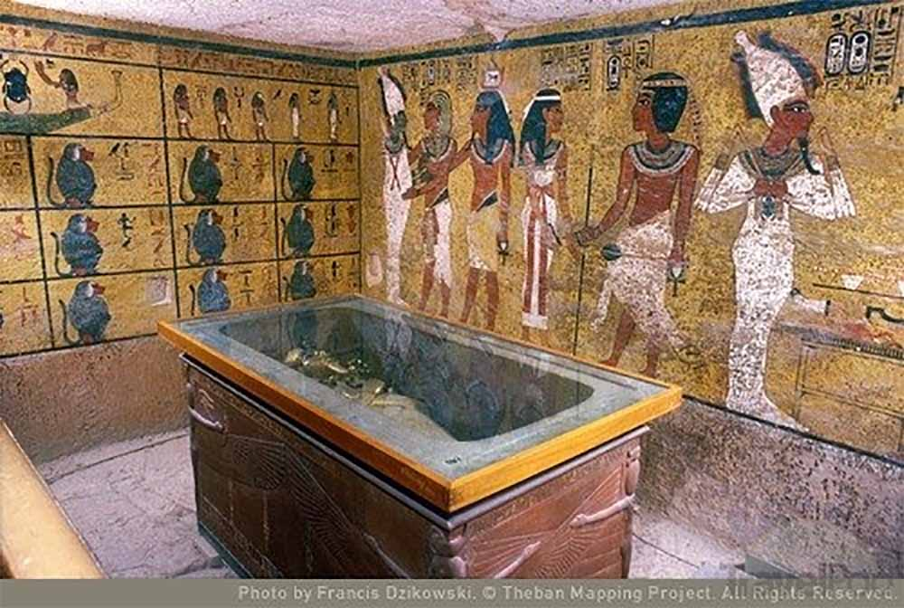 an analysis of the reflection of the egyptian concern for the afterlife in the tomb of tutankhamen a Egyptian dendrochronology project (2013 to present) as a result of favorable preservation and the ancient egyptian practice of materially provisioning the dead for the afterlife, archaeological excavations in egypt have recovered hundreds of tons of wood.